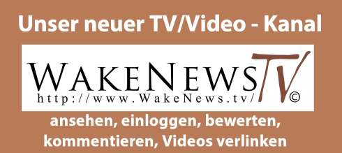 Unser neuer Wake News TV Channel Logo