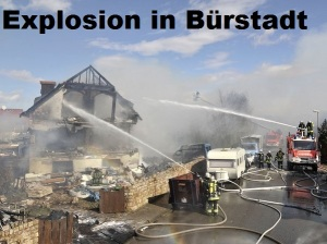 Explosion Bürstadt