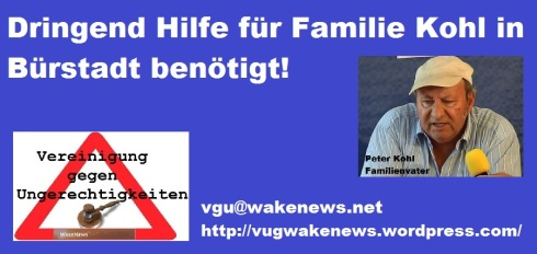 Hilfe für Familie Kohl