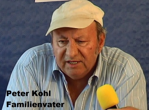 Peter Kohl Familienvater