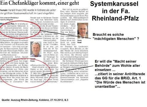Systemkarussel Rheinland-Pfalz