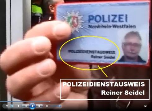 POLIZEIDIENSTAUSWEIS Reiner Seidel