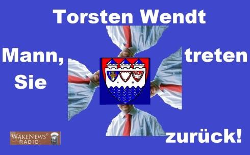 Torsten Wendt, Mann treten Sie zurück