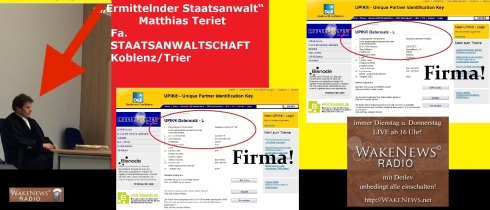 Matthias Teriet - ermittelnder Staatsanwalt Firma Staatsanwaltschaft Koblenz + Trier