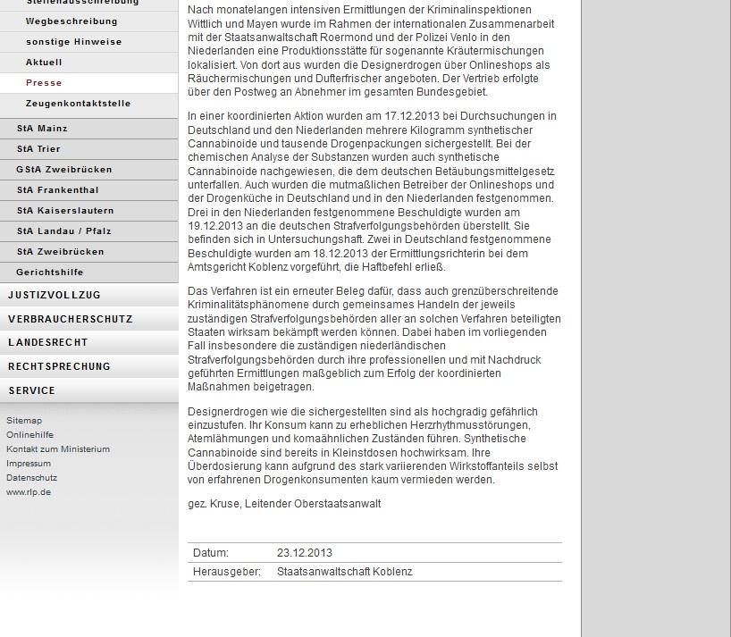 Koblenz   Vereinigung gegen Ungerechtigkeiten