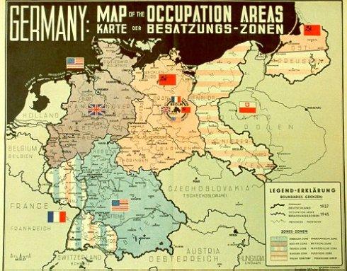 besatzungszonen Deutschland 31.12.1937