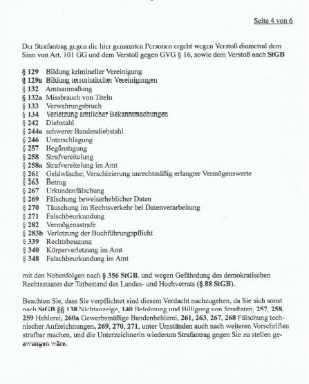 Strafantrag Dr. Marina Süssner gegen KZVN p4