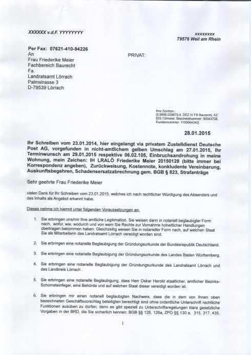 Anschreiben Landratsamt Lörrach Friederike Meier 20150128 p1