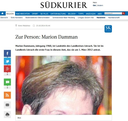Zur Person Marion Dammann