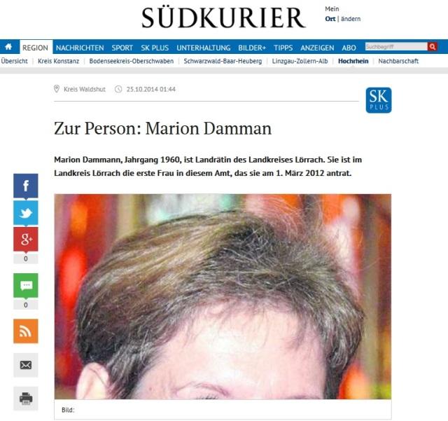 Zur Person Marion Dammann