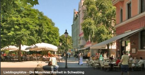 Münchner Freiheit Schwabing