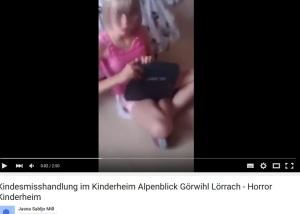 Kindesmisshandlung im Kinderheim Alpenblick Görwihl-Horror Kinderheim YT