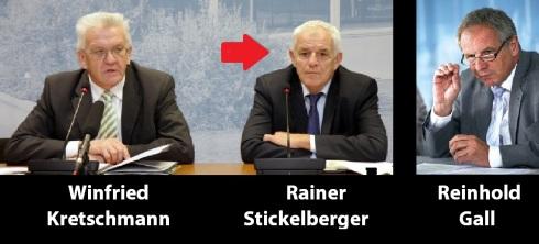 Kretschmann, Stickelberger, Gall
