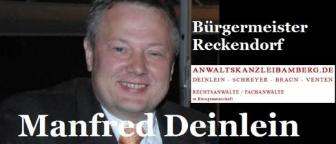 Manfred Deinlein Bürgermeister Reckendorf 2