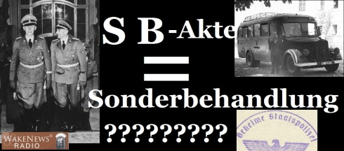 SB-Akte - Sonderbehandlung