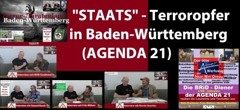 STAATS-TERROR-OPFER Baden Württemberg