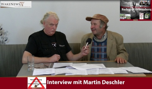 STAATS - Terroropfer Martin Deschler in Baden-Württemberg
