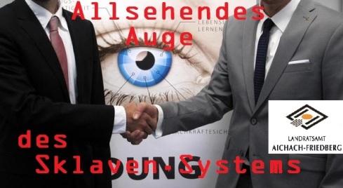 Allsehendes Auge des Sklaven-Systems