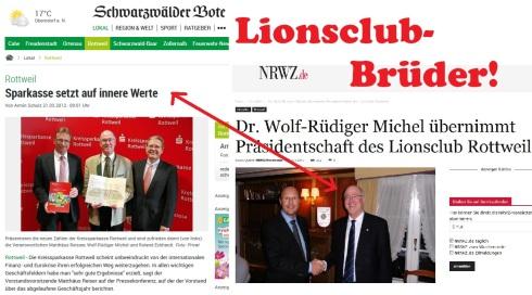 Lionsclub-Brüder