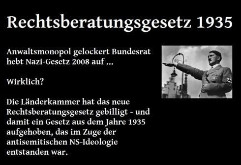 Rechtsberatungsgesetz 1935