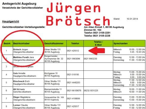 Jürgen Brötsch OGV Augsburg