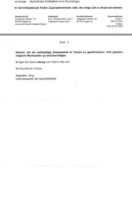 Ladung AG Augsburg 24.10.2016 Jürgen Brötsch p2