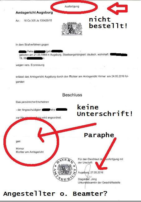 Ladung AG Augsburg 24.10.2016 Jürgen Brötsch p3 mark.