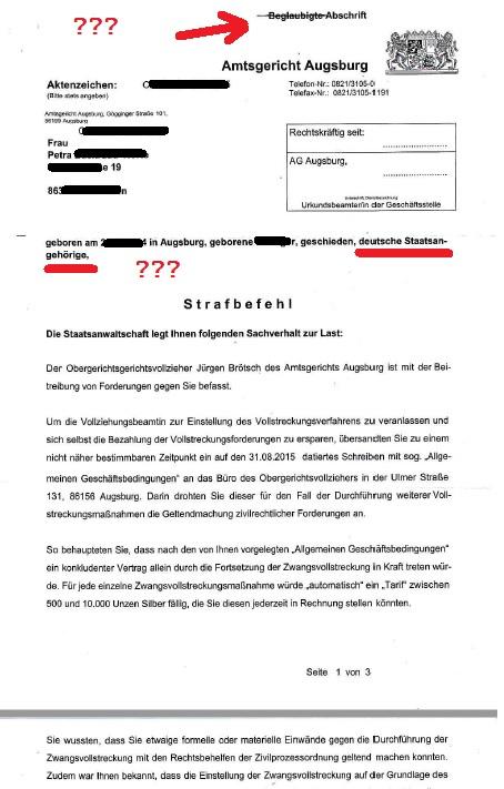 Ladung AG Augsburg 24.10.2016 Jürgen Brötsch p5 mark.