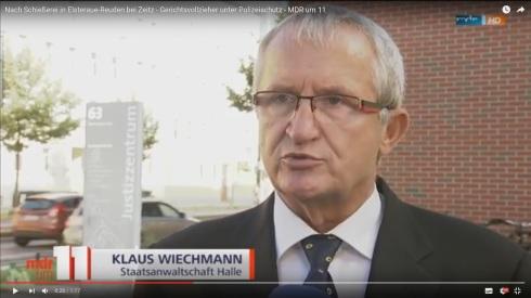 Klaus Wiechmann Staatsanwalt Halle