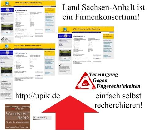 Land Sachsen-Anhalt ist ein Firmenkonsortium